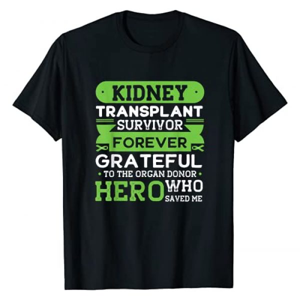 Kidney Transplant Survivor for Men and Women Graphic Tshirt 1 Kidney Transplant Survivor Organ Donor Grateful Gift T-Shirt