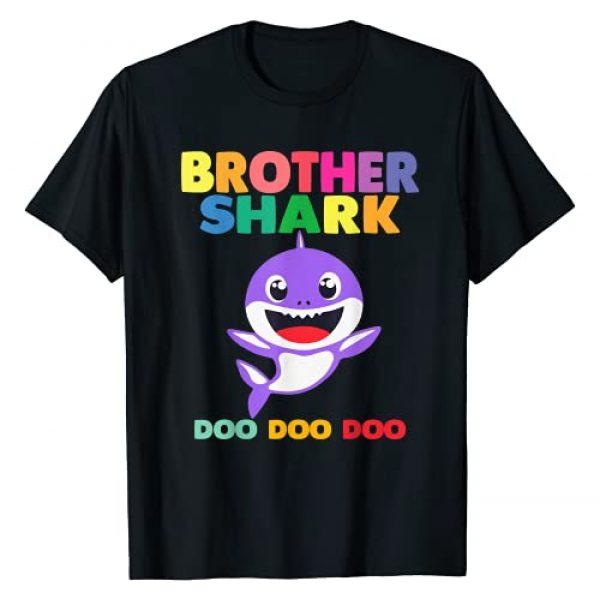Baby Shark Family by Zum2 Graphic Tshirt 1 Brother Shark Doo Doo Shirt for Matching Family Pajamas T-Shirt