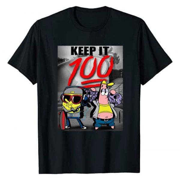 Nickelodeon Graphic Tshirt 1 Spongebob SquarePants Keep It 100 T-Shirt
