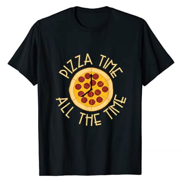 Pizza Lover Gifts For Men, Women And Kids Graphic Tshirt 1 Pizza Time All The Time - Funny Pizza T-Shirt