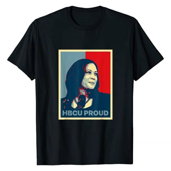 Woman Inspiration HBCU Proud Kamala Harris VP Graphic Tshirt 1 HBCU Proud Kamala Harris First Female Black Vice President T-Shirt