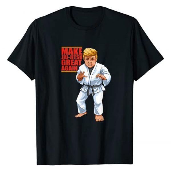 BJJ - Brazilian Jiu Jitsu and Grappling Gifts Graphic Tshirt 1 Funny Donald Trump Republican - Jiu-Jitsu and BJJ Gift T-Shirt