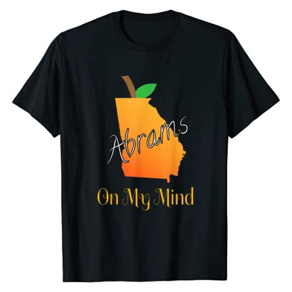 Stacey Abrams for OFFICE Graphic Tshirt 1 Stacey Abrams, On my Mind, State of Georgia Hero T-Shirt
