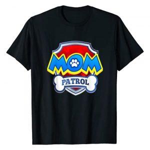 Patrol Collection Graphic Tshirt 1 Funny Mom Patrol | Funny Dog Mom Gift Birthday Party T-Shirt