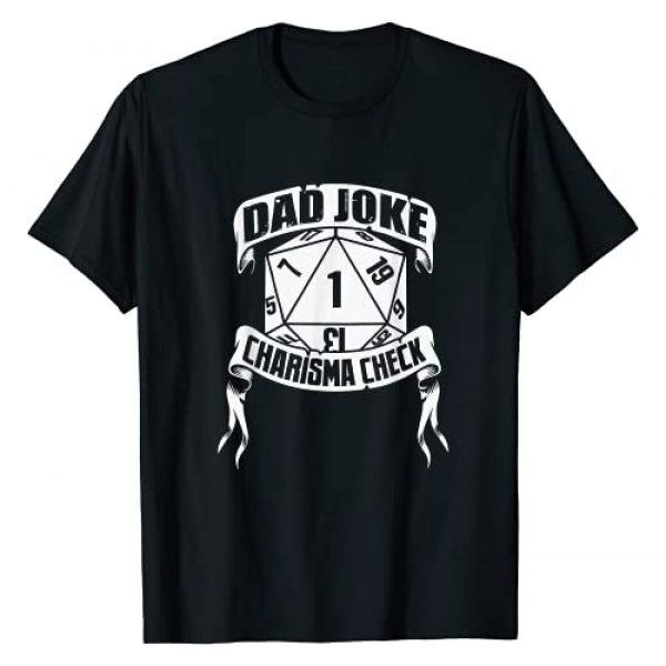 Dungeon Loot Armory Graphic Tshirt 1 Funny Dad Joke Charisma Check Critical Fail D20 RPG Gamer T-Shirt