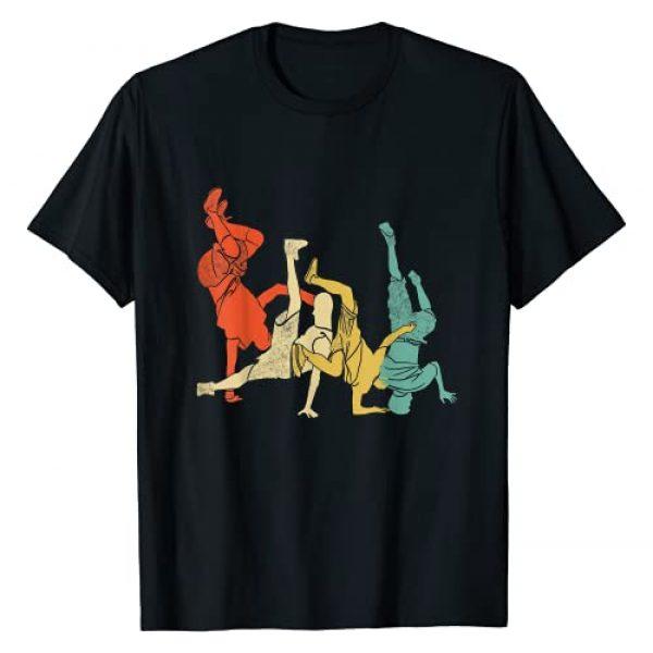 Vintage Breakdance B-Boy Dance Graphic Tshirt 1 Breakdancing Hip-Hop Dancer T-Shirt
