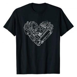 Art Teacher Heart Shape Teacher Tee Gift Graphic Tshirt 1 Art Teacher Heart Shape Teacher Apparel Tee Gift T-Shirt