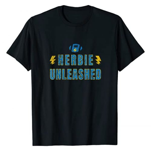 Oregon Justin Quarterback Tailgate Gear Gift Graphic Tshirt 1 Herbie Unleashed Los Angeles Football Team Herbert Fan T-Shirt