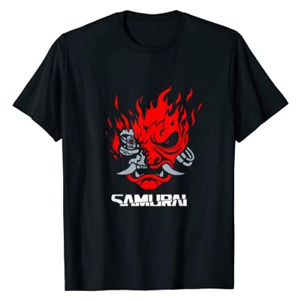 Design by cyberpunk_Art Graphic Tshirt 1 Vintage Samurai Retro Japanese Gaming 2077 Art Game Style T-Shirt