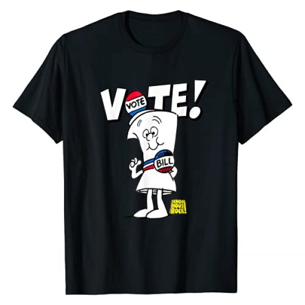 Schoolhouse Rock VOTE Graphic Tshirt 1 with Bill T-Shirt