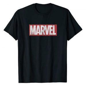 Marvel Graphic Tshirt 1 Classic Distressed Logo Graphic T-Shirt T-Shirt