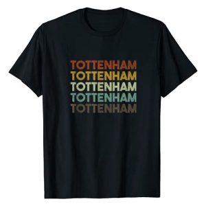 Tottenham London Apparel Graphic Tshirt 1 Retro Tottenham London T-Shirt