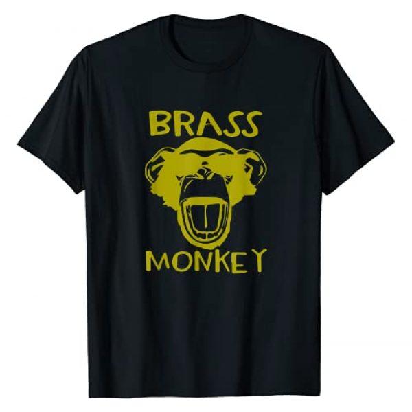 Trending Threads Apparel Co. Graphic Tshirt 1 Brass Monkey - Funny T-Shirt T-Shirt