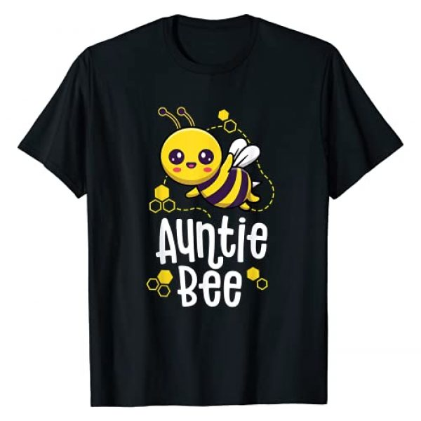 Family Bee by Joy Haus Graphic Tshirt 1 Family Bee Shirts Auntie Aunt Birthday First Bee Day Outfit T-Shirt