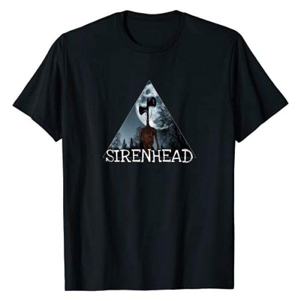 Cartoon cat Siren head, Creepypasta, horror, scary Graphic Tshirt 1 Siren head, Cartoon cat we love to escape from Siren head, T-Shirt
