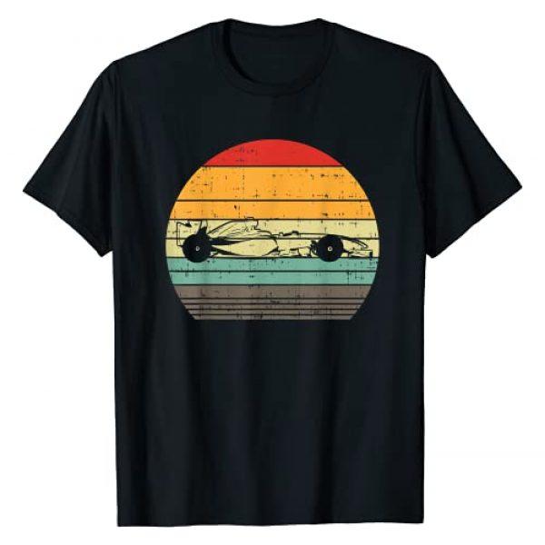 BoredKoalas Race Car Shirts Racing Racer Gifts Graphic Tshirt 1 Formula Race Car Sunset Retro Driver Racing Fans Racer Gift T-Shirt