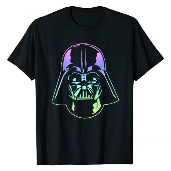 Star Wars Graphic Tshirt 1 Darth Vader Head Neon Gradient Graphic T-Shirt T-Shirt