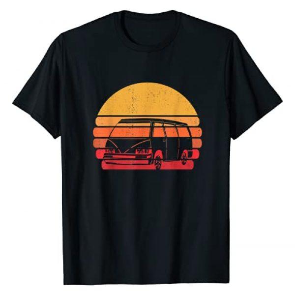 Retro Van Lover Apparel & Gifts Graphic Tshirt 1 Retro Camper Van Life   Vintage Vanlife T-Shirt