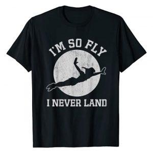 Disney Graphic Tshirt 1 Peter Pan So Fly Moon Silhouette Graphic T-Shirt T-Shirt