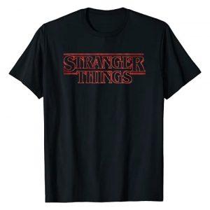 Stranger Things Graphic Tshirt 1 Netflix Stranger Things Neon Logo T-Shirt