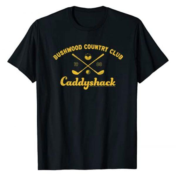 Warner Bros. Graphic Tshirt 1 Caddyshack Bushwood Country Club Logo T-Shirt