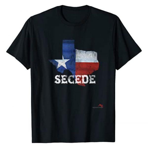 TheGraphicRabbit Graphic Tshirt 1 Texas Secede Tshirt