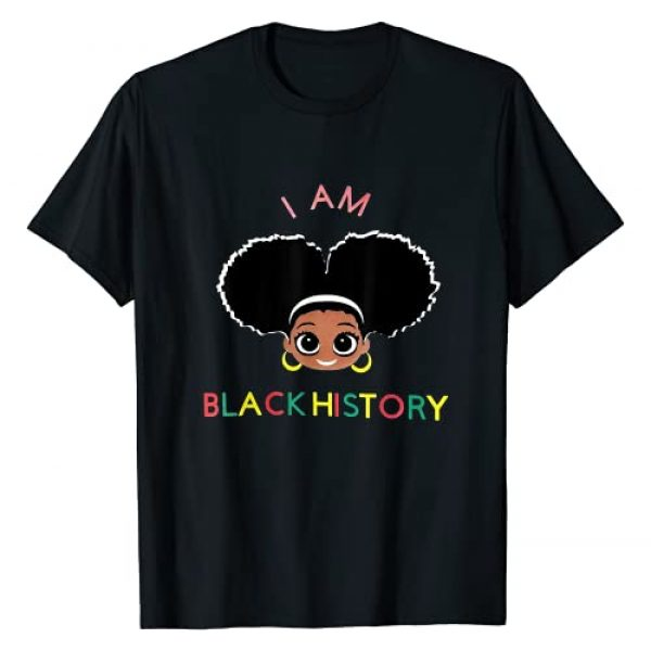 African American for Educated Black kids Queen Graphic Tshirt 1 I Am The Strong African Queen girls - Black History Month T-Shirt