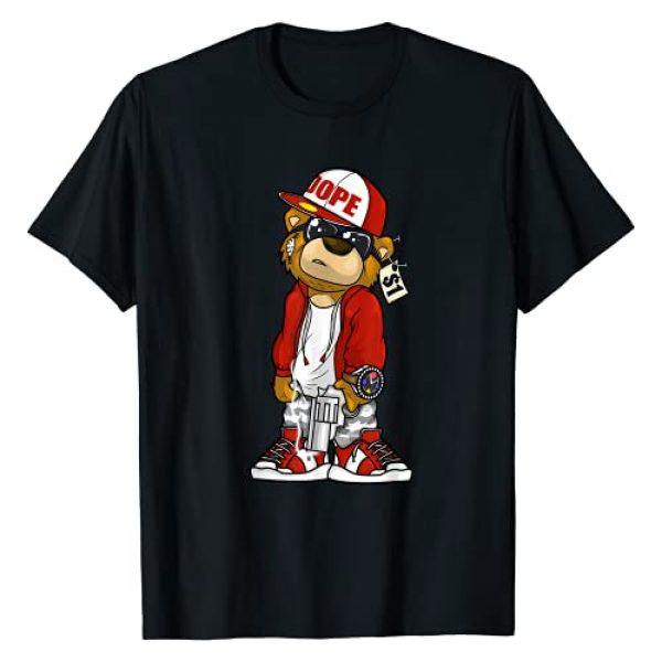 Zazzy Hustle 247 Gang Shirts Graphic Tshirt 1 Hip Hop Dope Hustle Teddy Bear Rap Lover Clothing Men Women T-Shirt