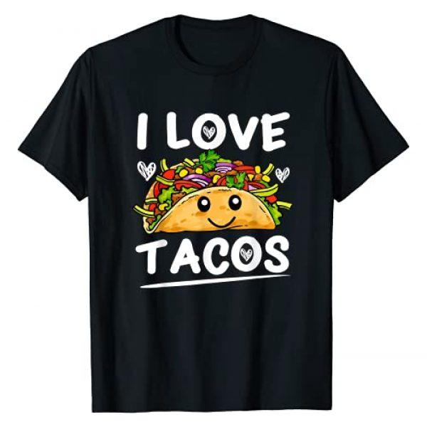 Graphic 365 Graphic Tshirt 1 I Love Tacos Tee Cinco De Mayo Taco T-Shirt