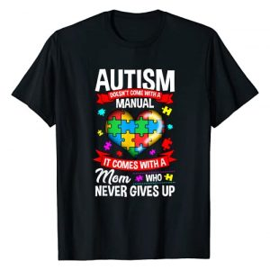 Autism Mom Shirt & Tees Graphic Tshirt 1 Autism Mom Shirt Women Autism Awareness Shirts Mom Cute Gift T-Shirt
