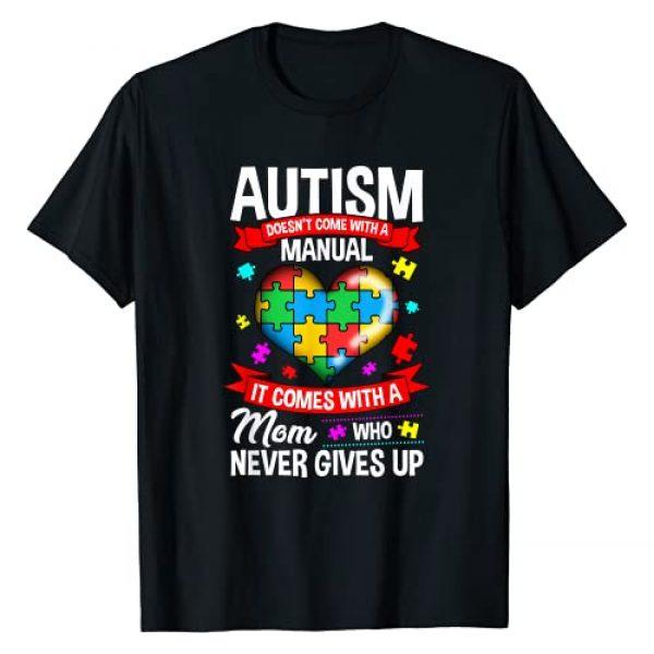 Autism Mom Shirt & Tees Graphic Tshirt 1 Autism Mom Shirt Women Autism Awareness Shirts Mom Cute Gift T-Shirt
