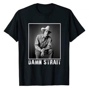 Teepenguin Graphic Tshirt 1 Graphic Damn Strait Love Music Funny George tshirts Strait T-Shirt