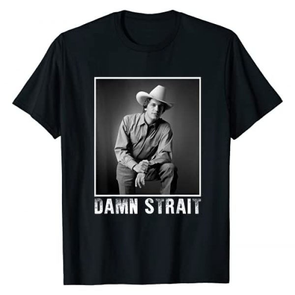 Teepenguin Graphic Tshirt 1 Graphic Damn Strait Love Music Funny George tshirts Strait T-Shirt