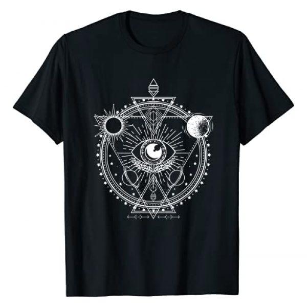 Blackcraft Tarot All Seeing Eye Apparel Graphic Tshirt 1 All Seeing Eye Mystic Blackcraft Occult Dark Magic Gift T-Shirt