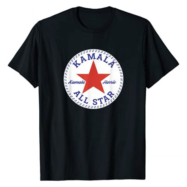 Deep Statements Graphic Tshirt 1 Kamala Harris All Star Logo T-Shirt