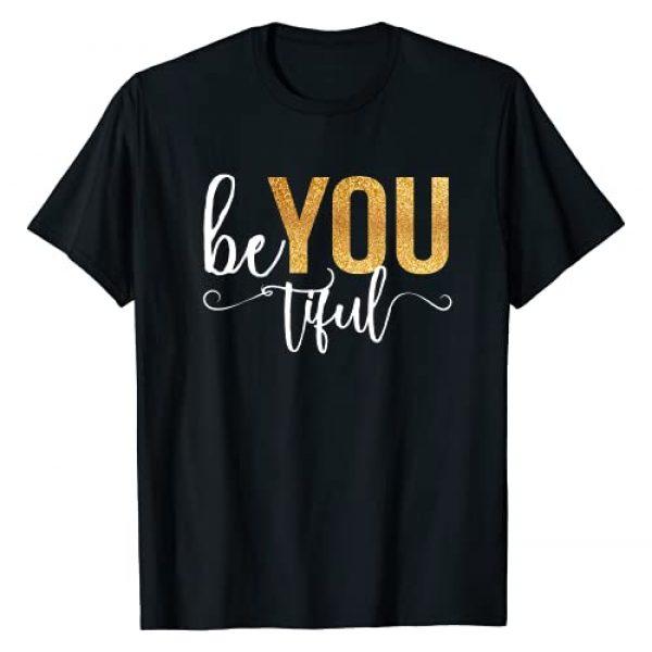 InGENIUS Beautiful Womens Gifts Graphic Tshirt 1 Womens Beautiful BeYoutiful Special Love Empowerment T-Shirt