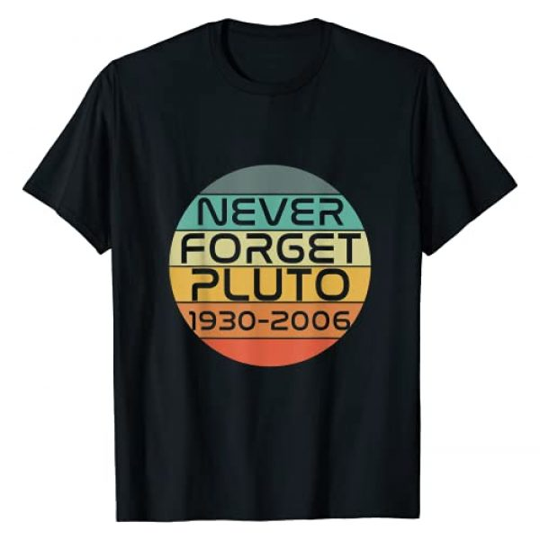 MathWare Graphic Tshirt 1 Funny Retro Vintage Never Forget Pluto 1930-2006 Nerdy Gift T-Shirt