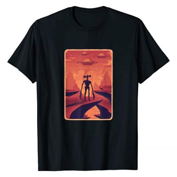 Siren Head Creature Cooler Gifts Graphic Tshirt 1 Siren Head Costume for Boys Alien Spaceship Creepy Creature T-Shirt