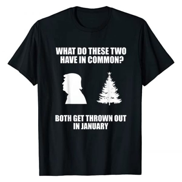 Funny Anti Trump Christmas Tree Gifts. Graphic Tshirt 1 Funny Anti Trump Christmas Tree Xmas Shirt T-Shirt