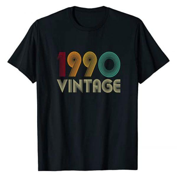 Vintage 1990 Shirt 31 Yrs Old 31st Birthday Graphic Tshirt 1 Vintage 1990 TShirt 31st Birthday Gifts 31 Years Old T-Shirt