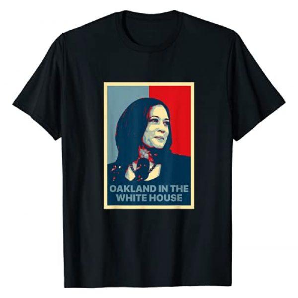 Kamala Harris Oakland Woman Inspiration Feminist Graphic Tshirt 1 Oakland In The White House MVP Kamala Harris First Female VP T-Shirt