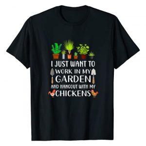 Funny gardening shirt gift for Men and Women Graphic Tshirt 1 Chicken lover funny gardening shirt for men women, Gardener T-Shirt
