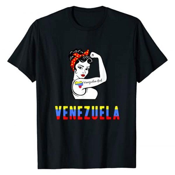 Venezuela Shirts for Women Graphic Tshirt 1 Venezuela Shirt for Women T-Shirt