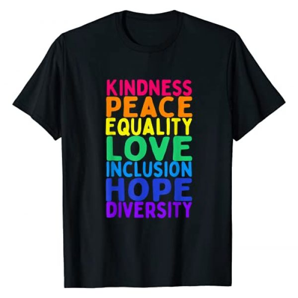 Black Matter Lives Ladies T-Shirt Justice Euality Peace Retro Tee ...