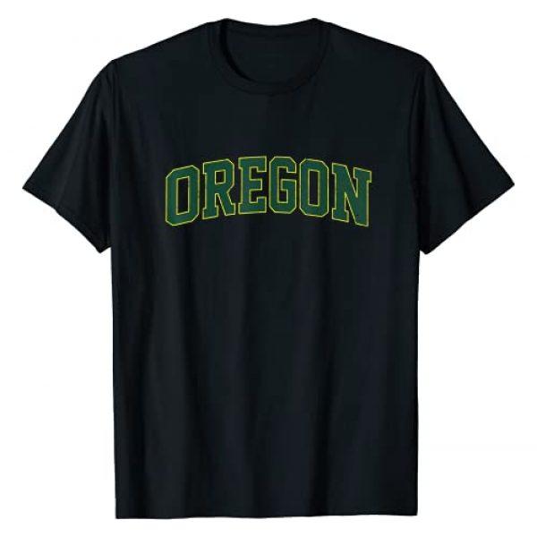 Eugene Oregon Vintage Shirts Graphic Tshirt 1 Oregon OR vintage Athletic Style gift T-Shirt