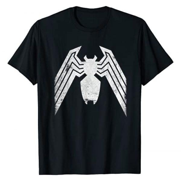 Marvel Graphic Tshirt 1 Venom Distressed Logo Graphic T-Shirt T-Shirt