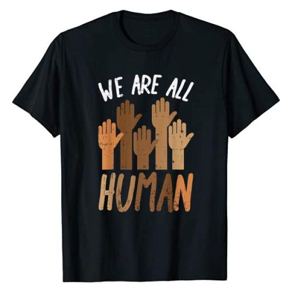 BoredKoalas Black History Shirts African Gifts Graphic Tshirt 1 We Are All Human Melanin Black History Pride Africa BLM Gift T-Shirt