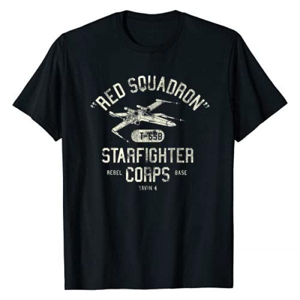Star Wars Graphic Tshirt 1 Rebel X-Wing Starfighter Corps Collegiate T-Shirt T-Shirt