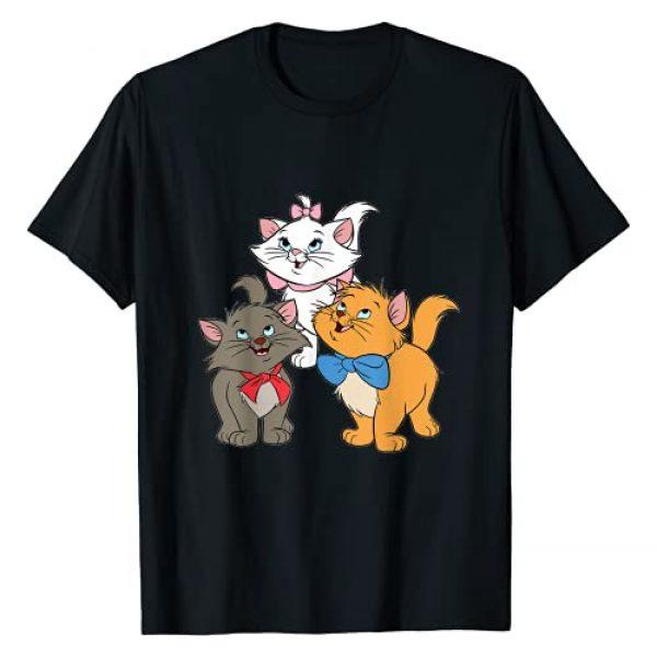 Marie Cats Tees & Apparel Graphic Tshirt 1 Women, Girls Marie Cat Cartoon Gifts, Aristocats Kittens T-Shirt