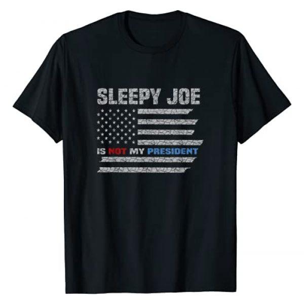 Sleepy Joe Is Not My President Tee Graphic Tshirt 1 Sleepy Joe Is Not My President Flag T-Shirt